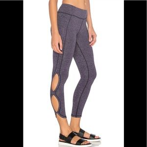 NWT Free People New Infinity Legging Navy Med/8-10